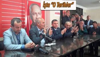BOLU CHP\'DE KONGRE TARİHLERİ BELLİ OLDU