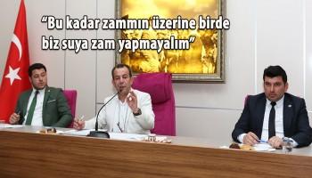 BOLU SU ZAMMINDAN ŞİMDİLİK YIRTTI
