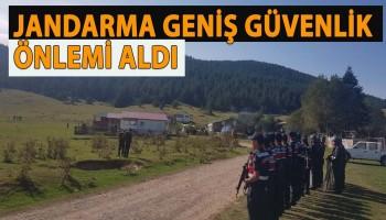 DÖRTDİVAN'DA KAÇAK YAPILAR YIKILDI