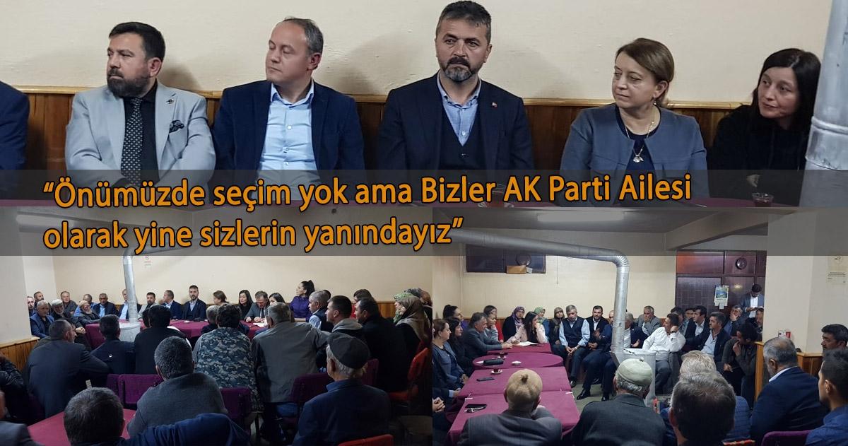 """""""AK PARTİ KÖY KÖY KAPI KAPI DOLAŞIYOR"""""""