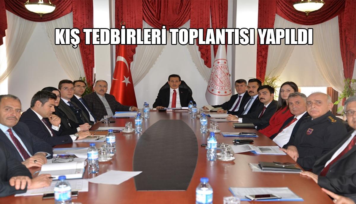 ALINACAK TEDBİRLER SUNUM HALİNDE AKTARILDI