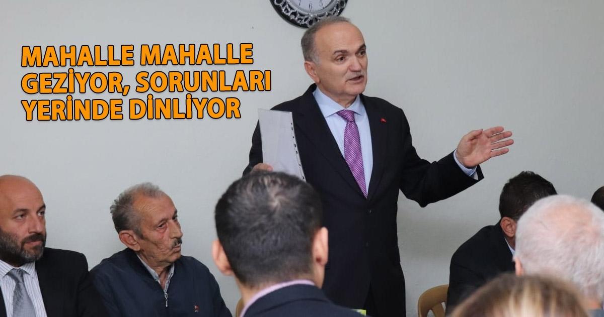 """BAŞKAN ÖZLÜ """"GÖREV SÜRESİNCE ZİYARETLERİMİZE DEVAM EDECEĞİZ"""""""