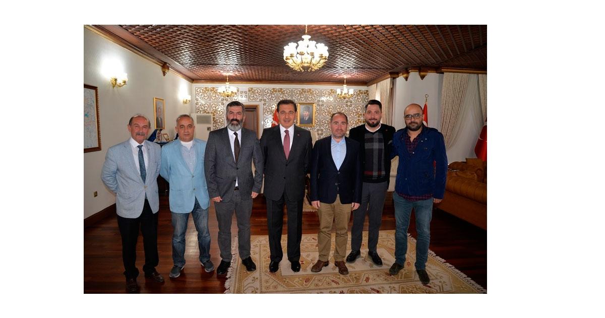 BGC'DEN VALİ AHMET ÜMİT'E ZİYARET