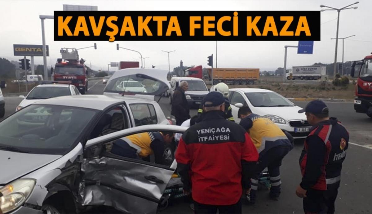BOLU'DA TRAFİK KAZASI