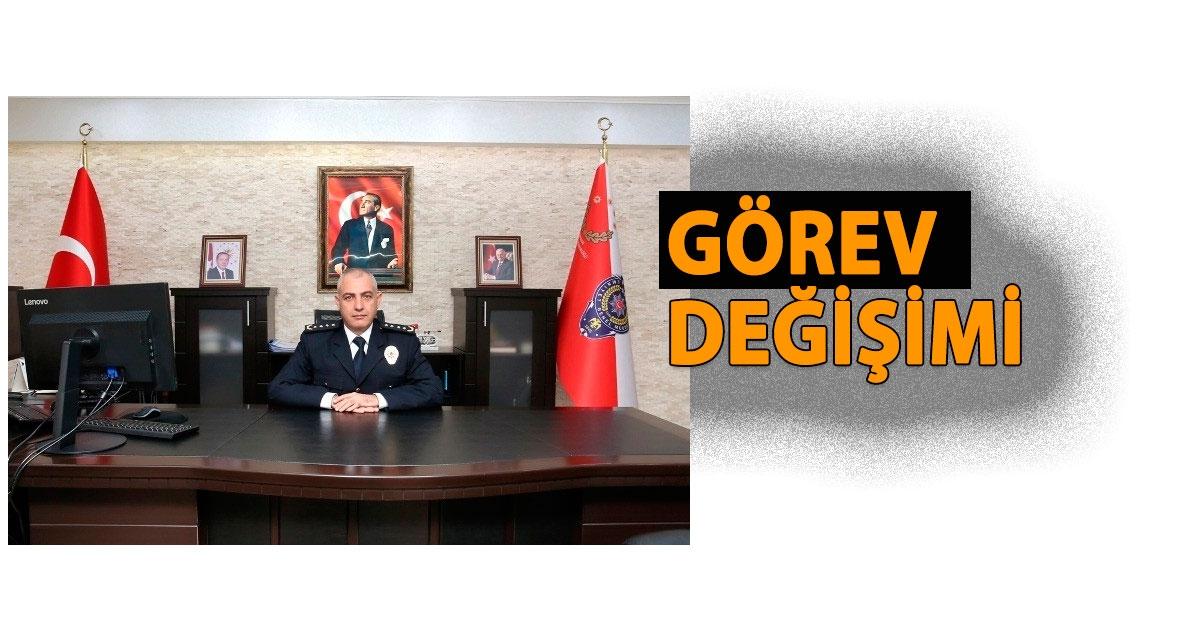 EMNİYET MÜDÜRÜ DENİZ'İN YERİNE, AKKAPLAN ATANDI