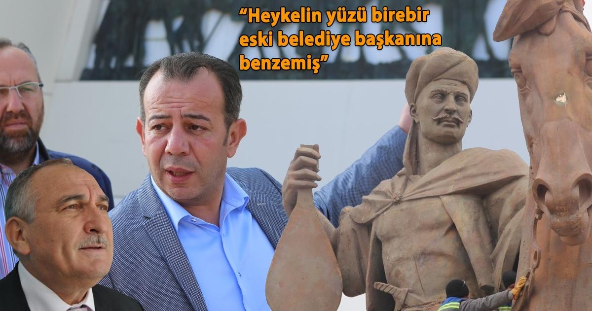 """""""HEYKELİN YÜZÜ BİRE BİR ESKİ BELEDİYE BAŞKANINA BENZETİLMİŞ"""""""
