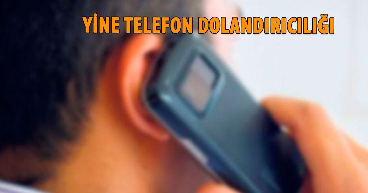 TELEFON DOLANDIRICISINA HEM HAPİS, HEM DE PARA CEZASI