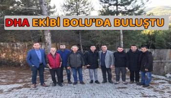 DHA EKİBİ KIŞ TOPLANTISINI BOLU\'DA YAPTI